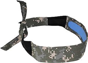 Radians RCS109 Arctic Skull Cooling Headband, Digital Camo