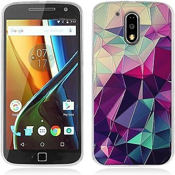 FUBAODA Funda para Motorola para Moto G4,Funda para Motorola para Moto G4 Plus Fantasía Patrón,Trasera,Funda para Motorola para Moto G4/G4 Plus: Amazon.es: Electrónica