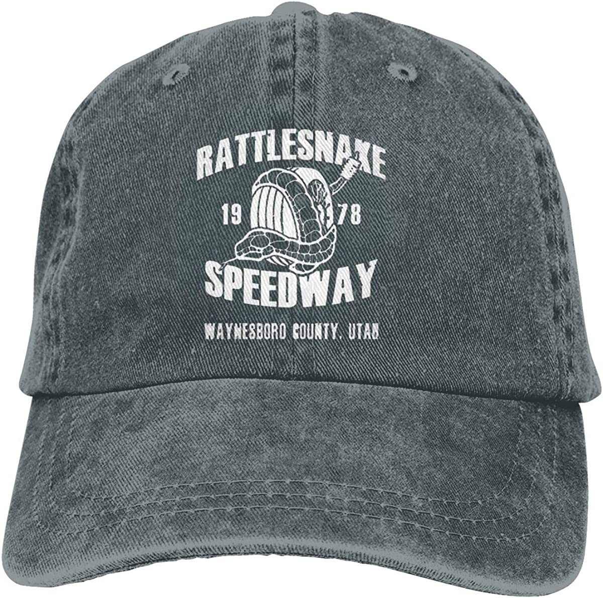 Rattlesnake/1978/Speedway Adjustable Baseball Caps Denim Hats