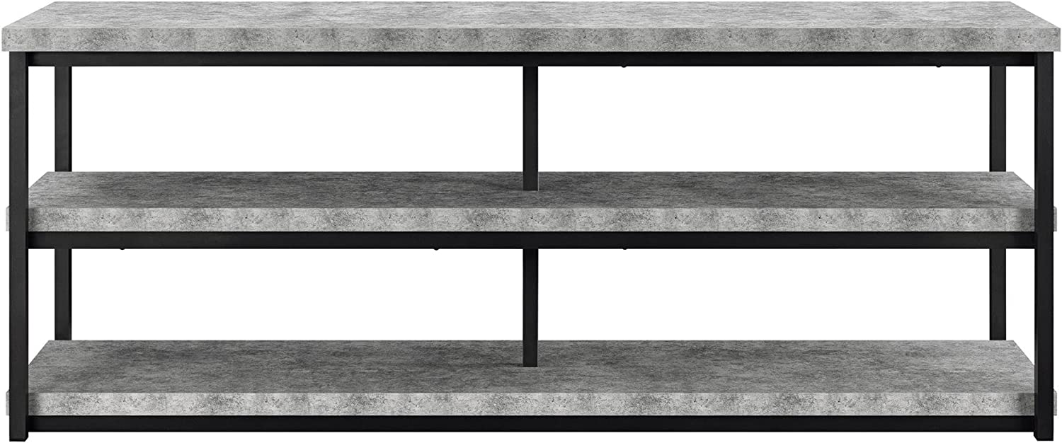 "Ameriwood Home Ashlar TV Stand for TVs up to 65"", Concrete Gray"
