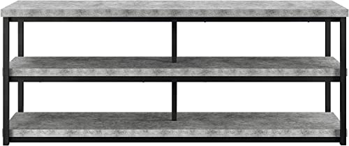 Ameriwood Home Ashlar TV Stand for TVs up to 65 , Concrete Gray