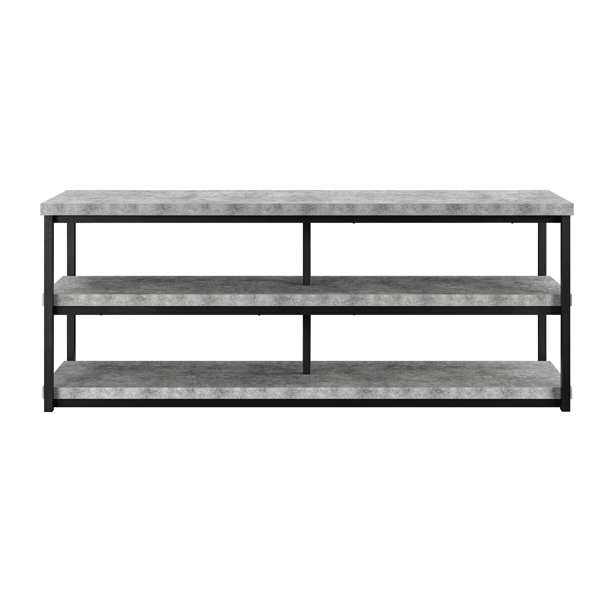 Ameriwood Home Ashlar TV Stand for TVs up to 65'', Concrete Gray by Ameriwood Home