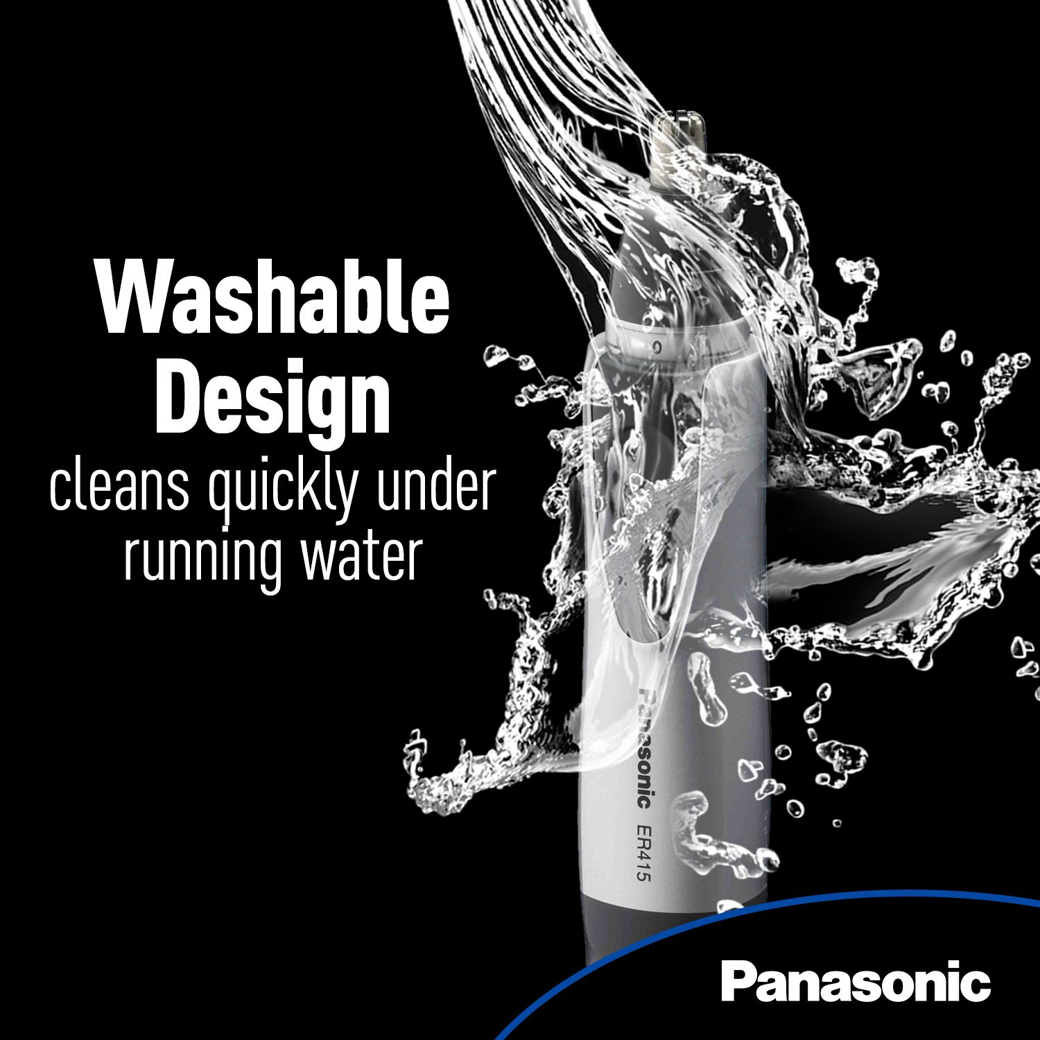 Panasonic Ear and Nose Trimmer, Wet/Dry Convenient, ER415SC by Panasonic (Image #4)