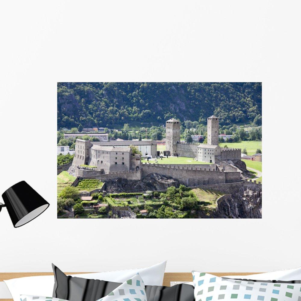 Wallmonkeys Bellinzona Wall Decal Peel and Stick Graphic WM362116 36 in W x 24 in H