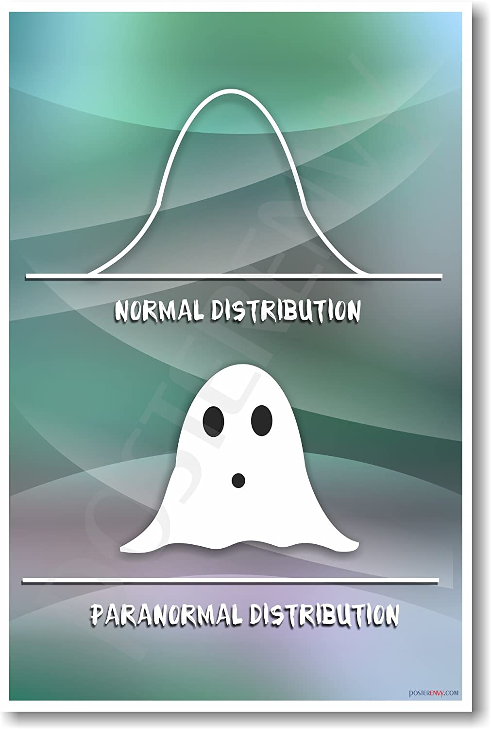Amazon Com Paranormal Distribution New Humor Poster Office