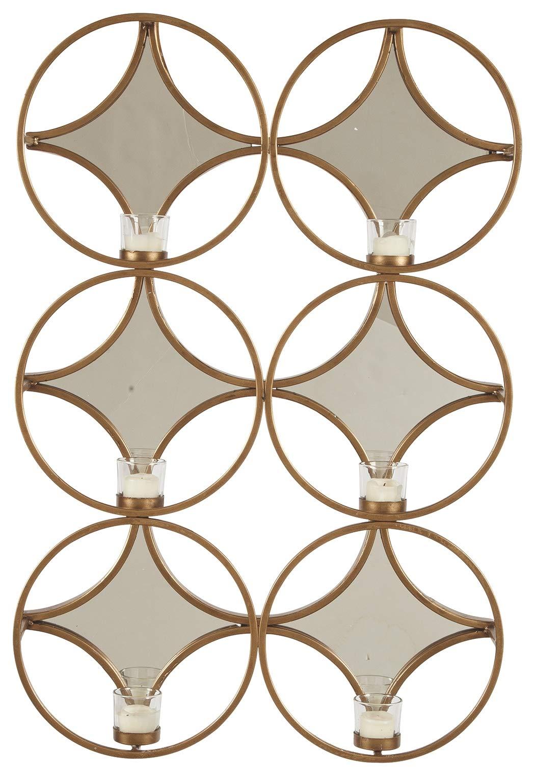 Ashley Furniture Signature Design - Emilia Wall Sconce - Contemporary - Gold Finish by Signature Design by Ashley