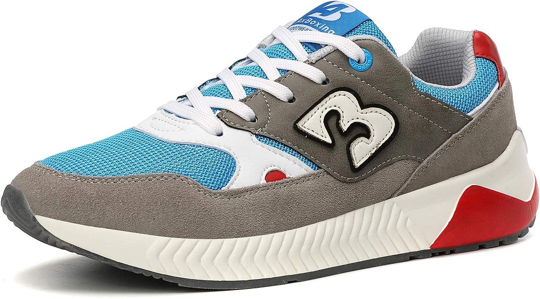 Fashion Chaussures Sport Lacets en Daim Baskets Baskets Sport Running Hommes Chaussures Hot
