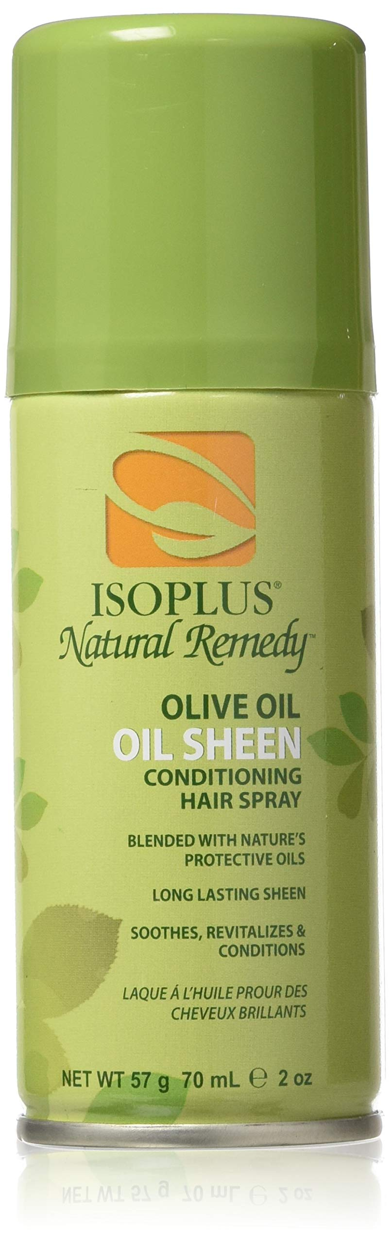 Isoplus Natural Remedy Olive Oil Sheen Spray, Trial Size, 2 Ounce