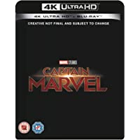 Captain Marvel Blu-ray 4K UHD