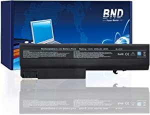 BND Laptop Battery for Compatible with HP EliteBook 8440P 6930P 8440W/ Compaq 6730B 6735B 6530B / ProBook 6440B 6445B 6540B 6545B 6550B, fits P/N 482962-001 HSTNN-UB69-12-Month-Warranty