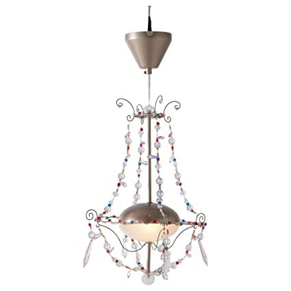 Amazon.com: Ikea Minnen Coloful Beads Chandelier Hanging ...