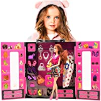 Kayyum Oyuncak Beauty Fashion Star Barbie Elbise Gardrobum Bebekli Model