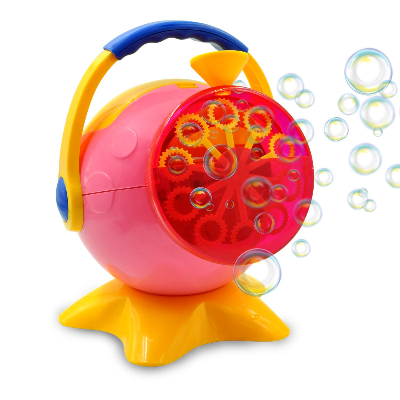 Amazon.com: Bubble Machine for Kids, Automatic Bubble Blower Maker ...