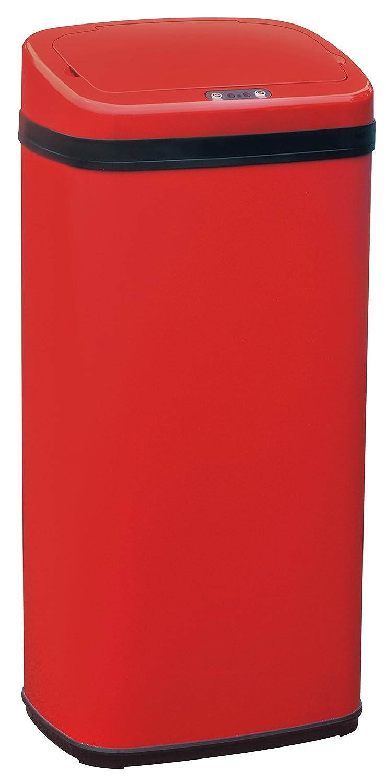 Sun Ruck センサー 自動開閉式 電動ゴミ箱 40L EA-ELT401 レッド B075CKRP3V レッド レッド