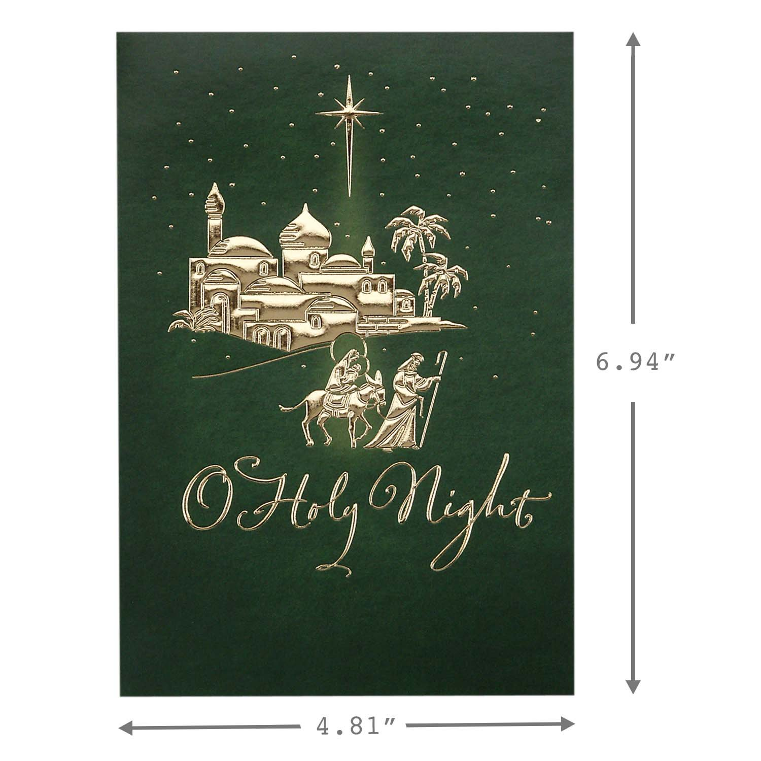 Image Arts Religious Christmas Boxed Cards Assortment /(4 Designs ...