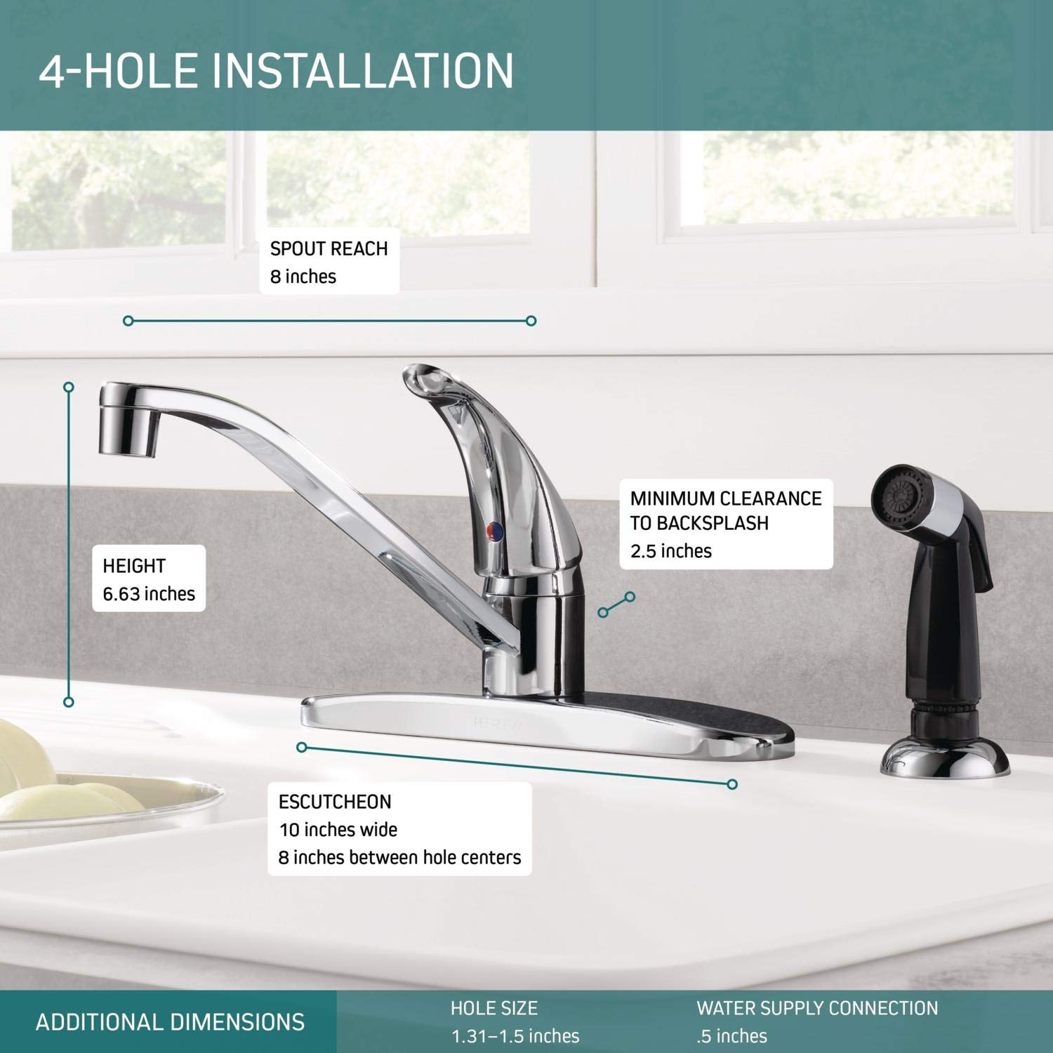 best kitchen faucets for hard water