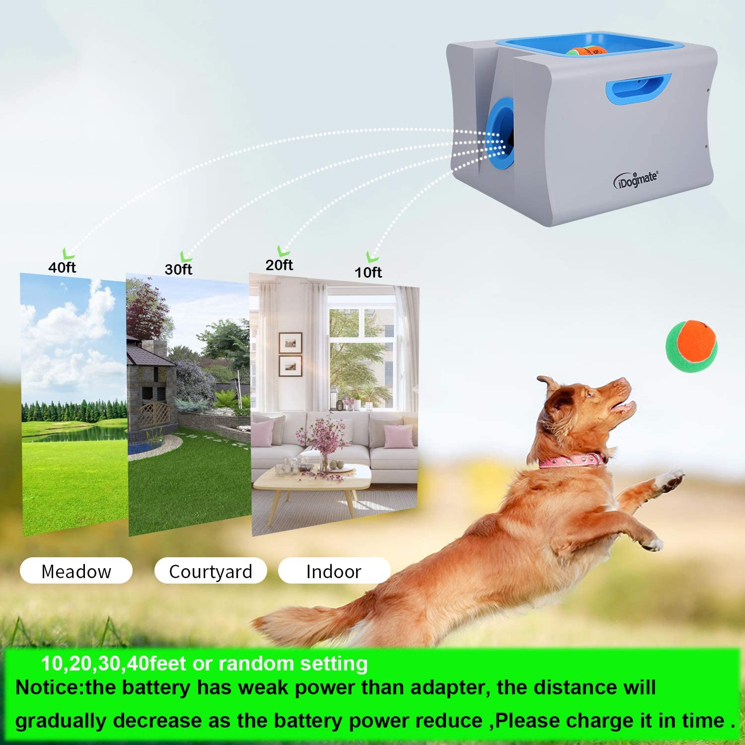 IDOGMATE Interactive Ball Launchers for Dogs