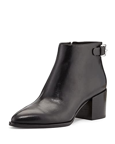 8ab3012b9c9 Amazon.com | MICHAEL Michael Kors Saylor Leather Ankle Boot Black ...