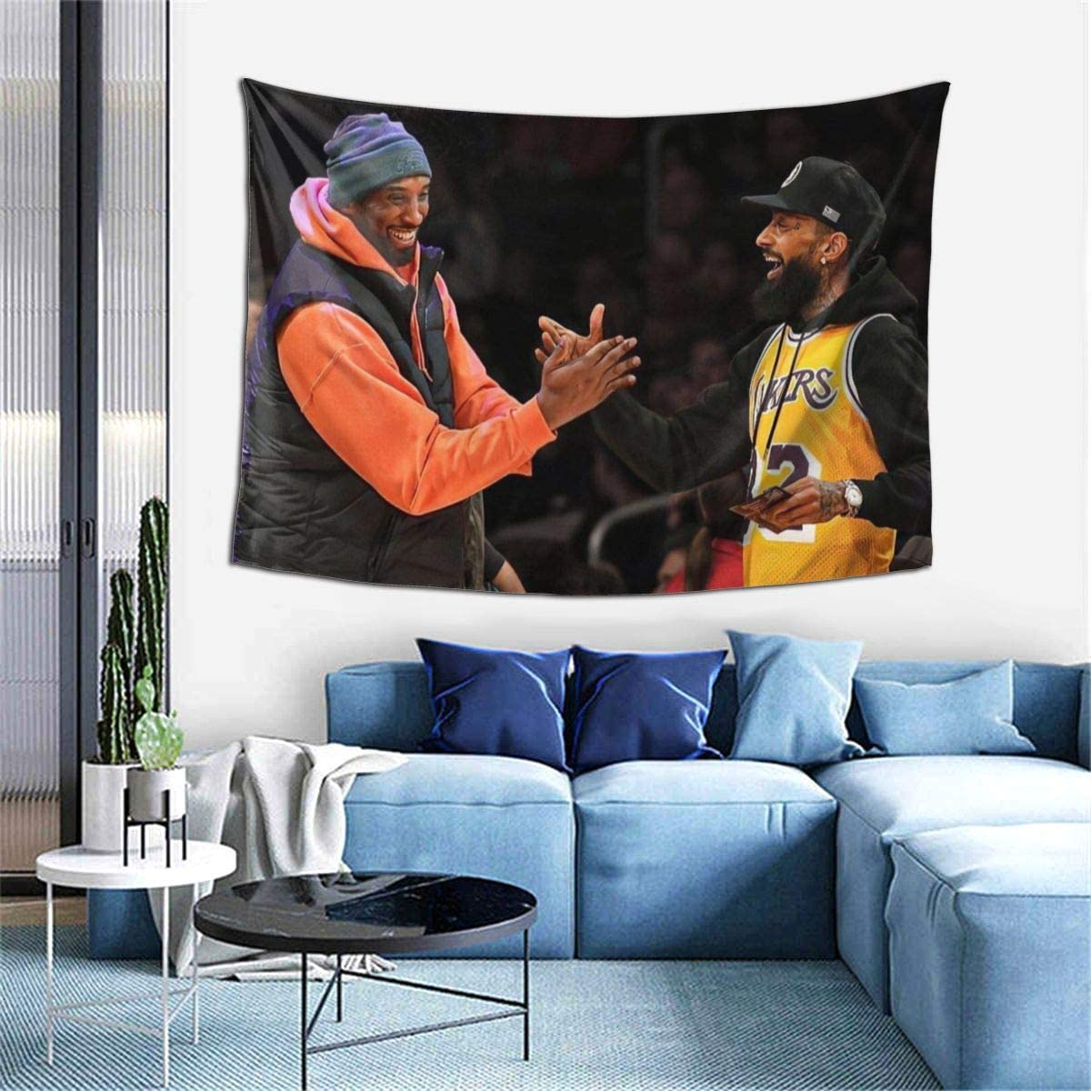 Nipsey-Hussle Rest In Peace Legend Tapestry Wall Hanging Tapestries 3d Printing Blanket Wall Art For Living Room Bedroom Home Decor 60×40 Inch