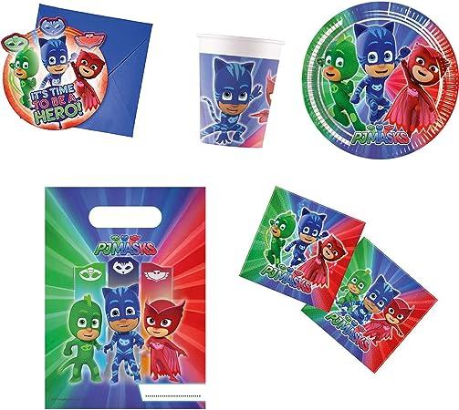 Procos- Figuren & Charactere PJ Masks - Set de fiesta (10117003)