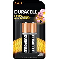 Duracell Alkaline AAA Battery with Duralock Technology - 2 Pieces