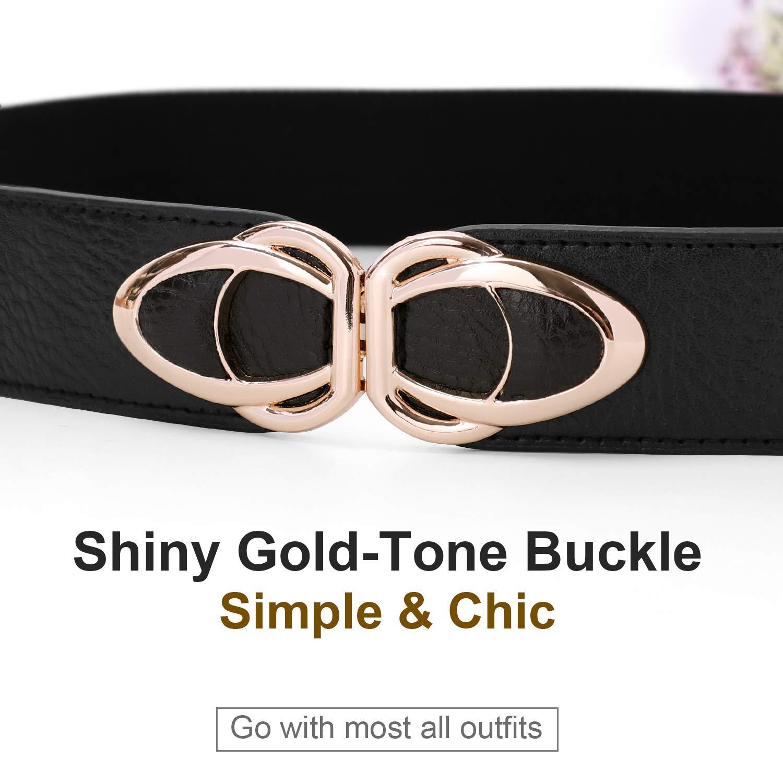 Cinch Elastic Belts for Women Ladies Stretch 1.5\