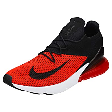Amazon.com | Nike Air Max 270 Flyknit - Men's Chili Red/Black ...