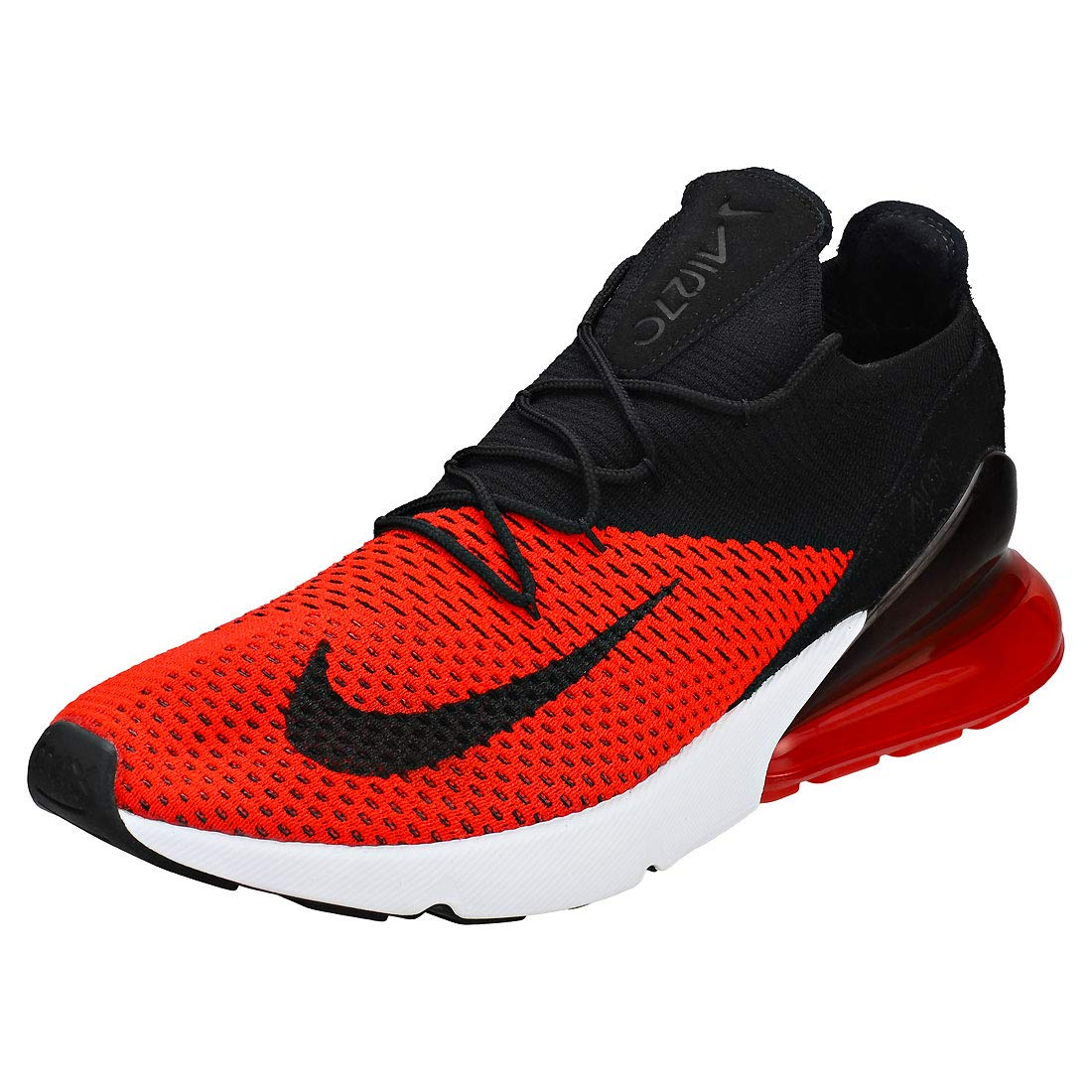 a06a80716c406 Nike Air Max 270 Flyknit - Men s Chili Red Black Challenge Red White