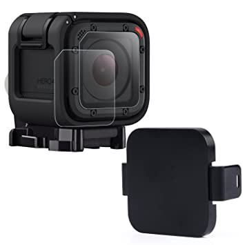 Amazon.com: hapurs cámara deportiva Caps accesorios Kit, 2 ...