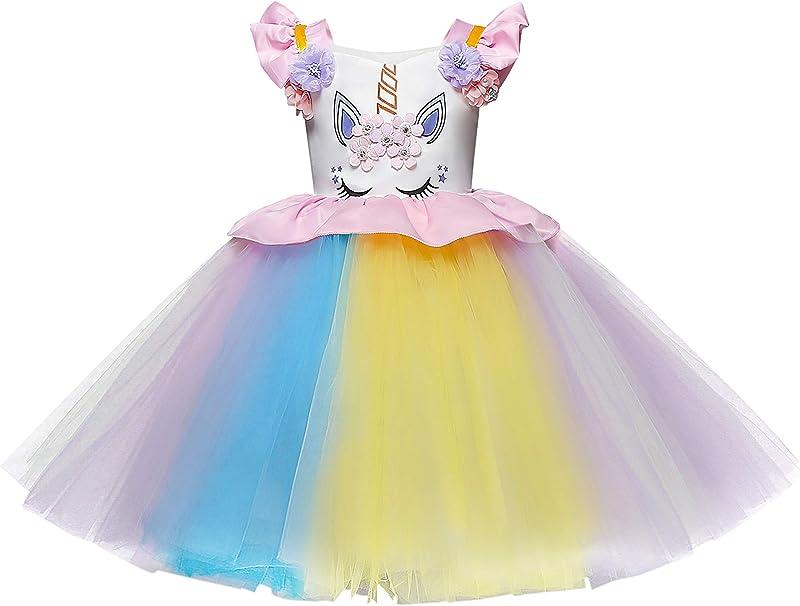 Monissy Disfraz de Princesa Flor Chica Diario Vestido de Boda ...