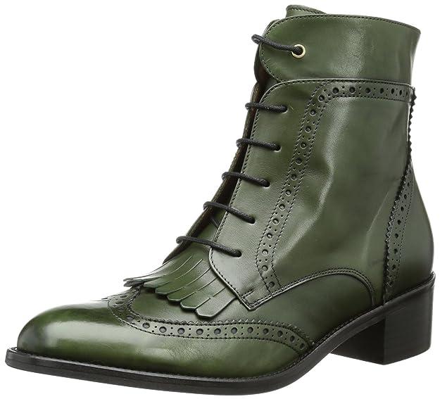 Pertini Pertini - Botines tacón, talla: 40, color: verde - Grün (botiglia): Amazon.es: Zapatos y complementos