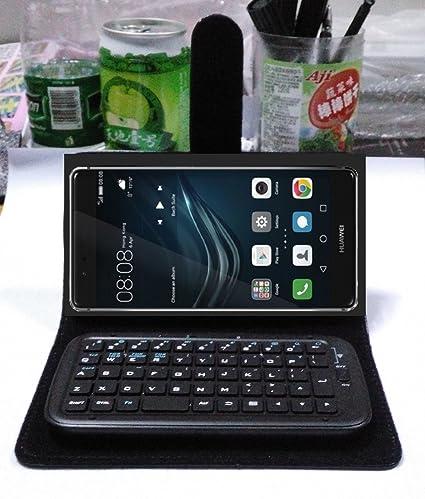 Teclado inalámbrico Bluetooth para Smartphone para Huawei P9 Plus, portátil Teléfono celular teclado para Huawei