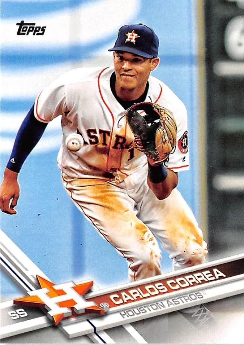 2016 Topps Chrome Carlos Correa #75 Astros Mint