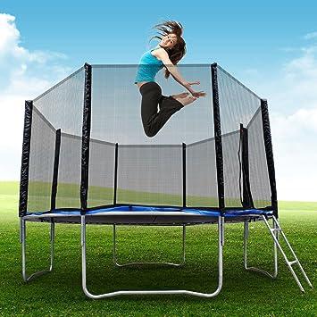 Super Jumper BCP - Juego de cama elástica redonda con cierre ...