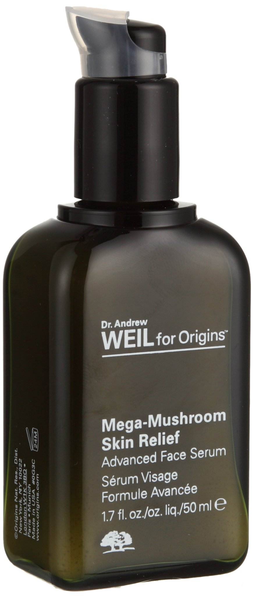 Origins Dr. Andrew Mega-Mushroom Skin Relief Advanced Face Serum, 1.7 Ounce