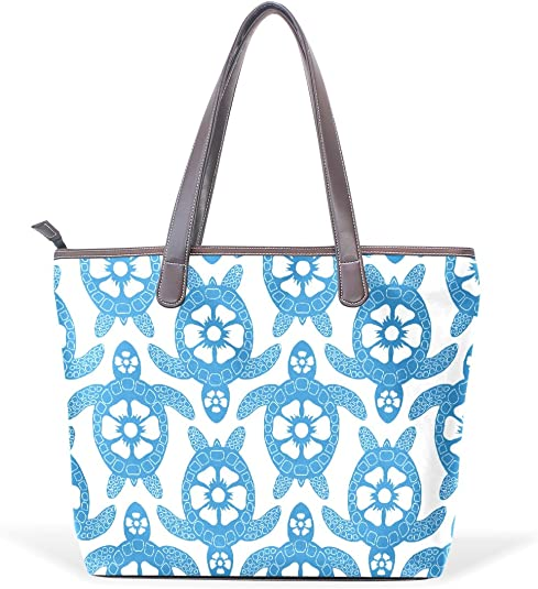 InterestPrint Weekender Bag Overnight Carry-on Tote Duffel Bag Stylized Poppies