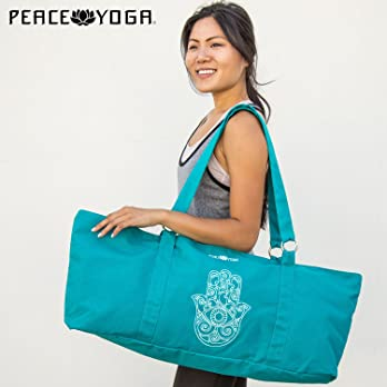 Peace-Yoga-Yoga-Mat-Tote-Bag