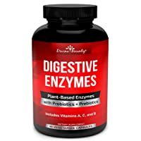 Digestive Enzymes with Probiotics & Prebiotics - Digestive Enzyme Supplements w...