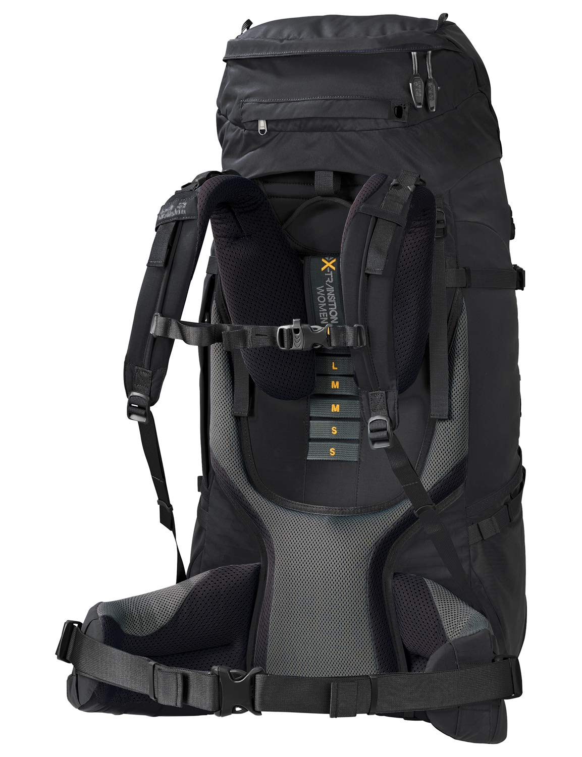 Amazon.com : Jack Wolfskin Denali 60l Womens Internal Frame Trekking Hiking Backpack Phantom : Sports & Outdoors