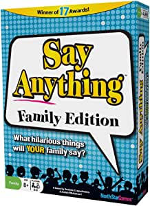 Amazon.com: North Star Games Say Anything Family Game | Card Game ...