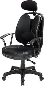 Unbranded FT-K2-BK Korean Office Chair Superb - Black
