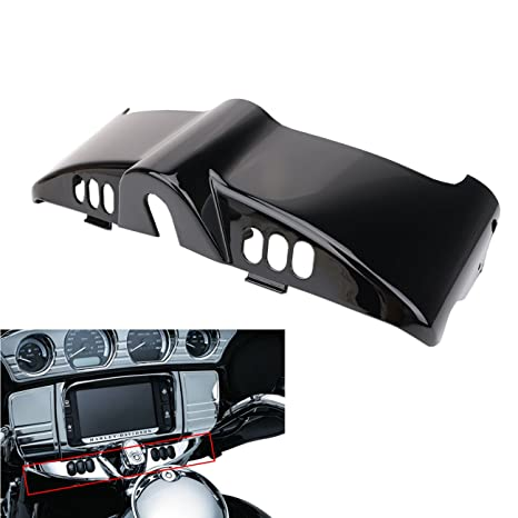 Amazon com: Black Inner Fairing Cap and Switch Cover For Harley