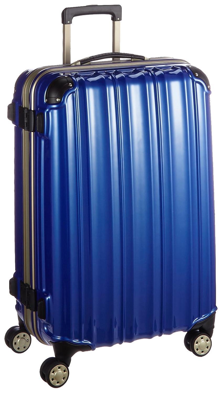 (ビータス) Beatas スーツケース TSAロック軽量アルミフレーム ビータスBH-F2000【一年修理保証】SUITCASE B00PV8CB30 M|鏡面ディープブルー 鏡面ディープブルー M
