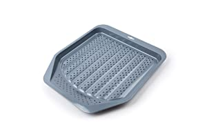 "Fox Run 572678-44516 44516 French Fry Perforated Surface Non-stick Pan, 12"" by 12 inch, Carbon Steel"