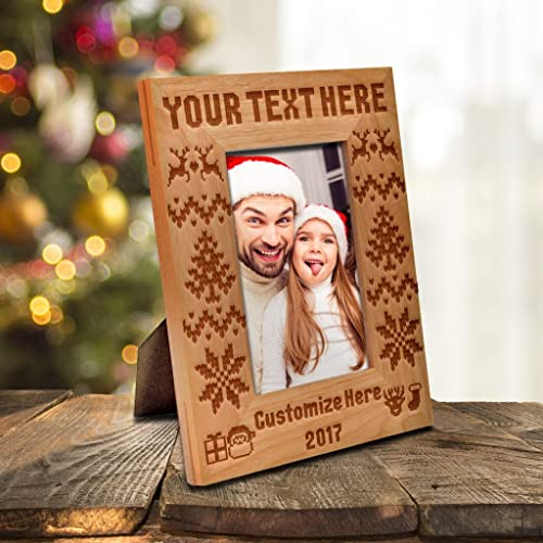 Amazon Be Burgundy Personalized Merry Christmas 2017 Photo