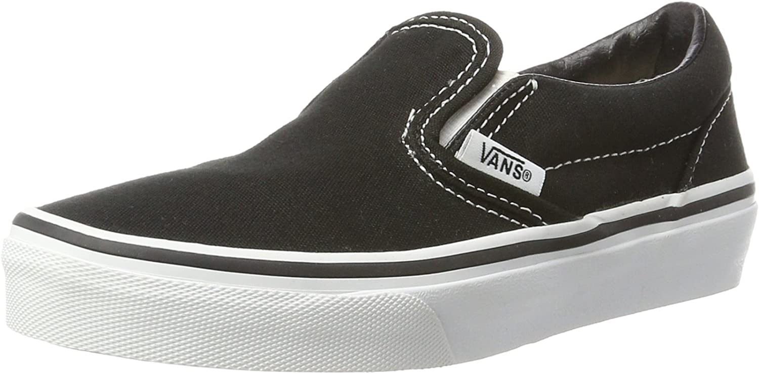 vans kids slip on