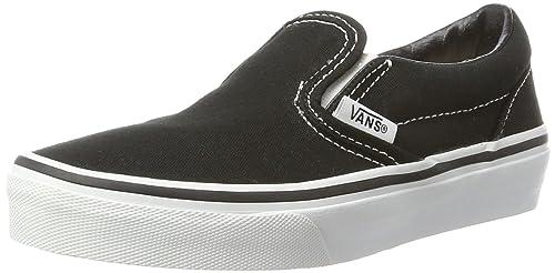 Noir Vans Classic Slip On Skate Shoes Taille:(EU)28,29,30
