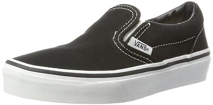 Vans Kids Classic Slip on Schwarz