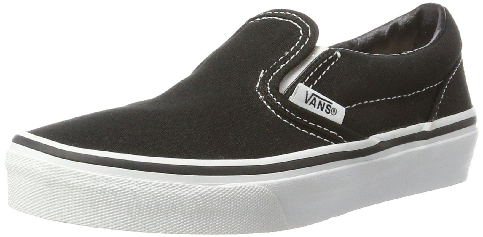 Vans Kids Classic Slip-On Black/True White 4