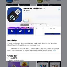 Amazon Co Uk Customer Reviews Verbatim 943 Mediashare Wireless